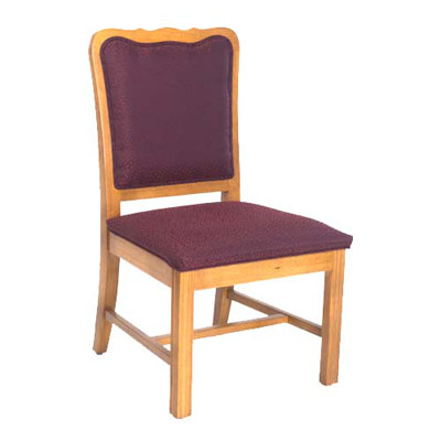 Chippendale Curved Top Side Chair