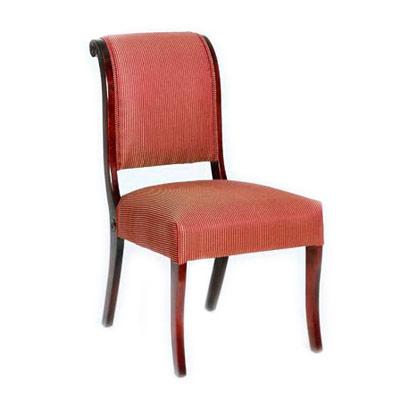 Scroll Back Side Chair