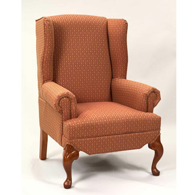 Boston Carved Wingback Chair