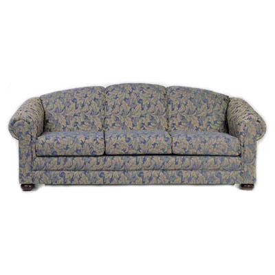 Bun Foot Sofa with Loose Cushions