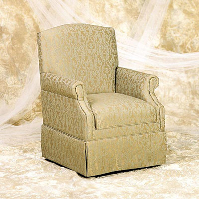 Glider Rocker with Removable Seat