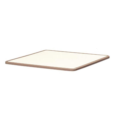 "Table Top Square 42"" Spill Free Edge"